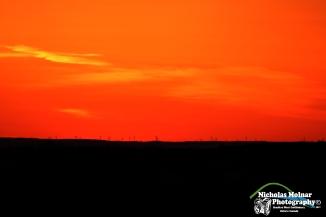 Over looking a Power wind farm Near Bradford West Gwillimbury CR